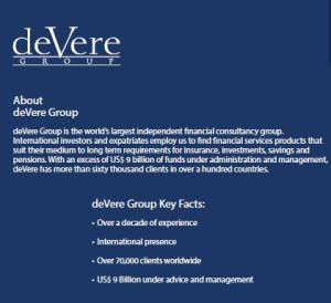 deVere Profile
